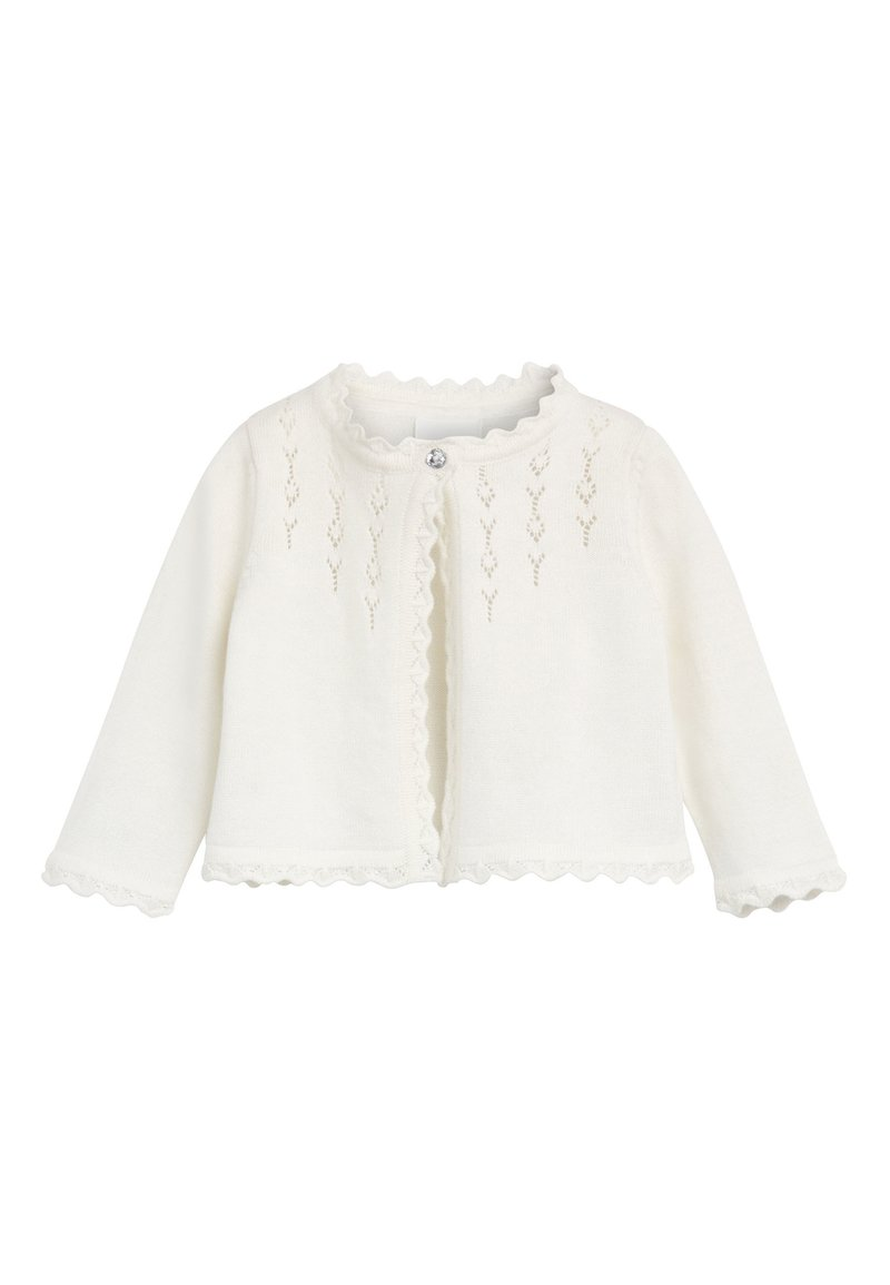 Next - PINK OCCASION CARDIGAN (0MTHS-2YRS) - Chaqueta de punto - off-white