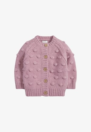 CHUNKY BOBBLE - Cardigan - pink