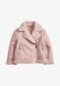 Next - Faux leather jacket - pink - 0