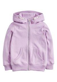 Next - Zip-up hoodie - purple - 0
