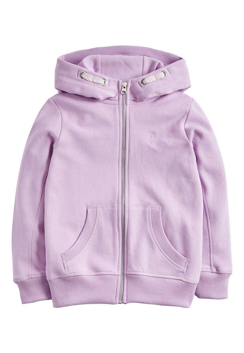 Next - Zip-up hoodie - purple