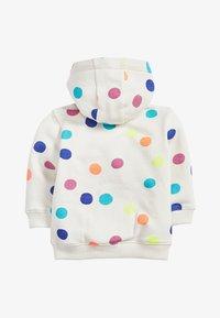 Next - LILAC UNICORN ZIP THROUGH HOODY (3MTHS-7YRS) - Zip-up hoodie - white - 1