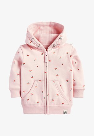 LILAC UNICORN ZIP THROUGH HOODY (3MTHS-7YRS) - Zip-up hoodie - pink
