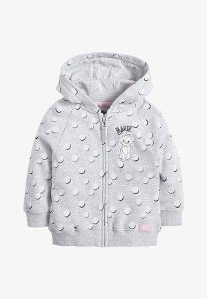 GREY MARIE ZIP THROUGH HOODY (3MTHS-7YRS) - Zip-up hoodie - grey