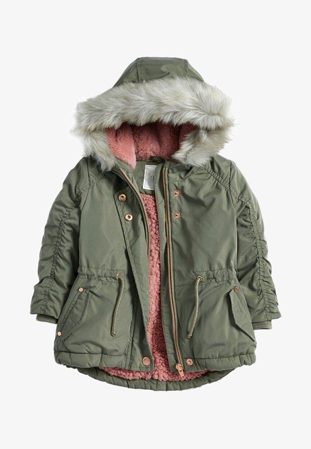 Winter jacket - green