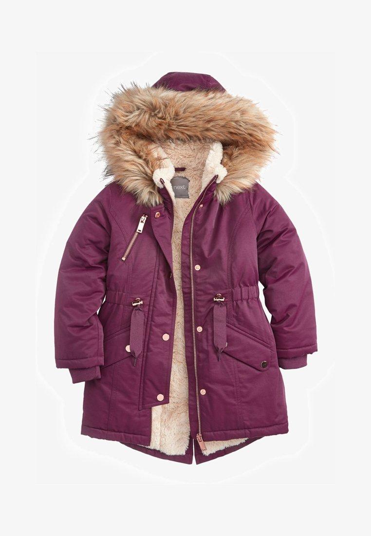 Next - Wintermantel - purple