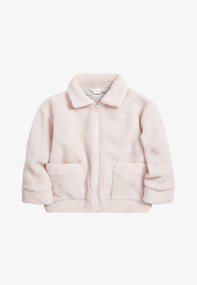 ECRU BORG - Fleecejacka - light pink