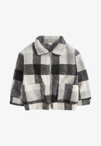 Next - ECRU BORG - Fleece jacket - grey - 0
