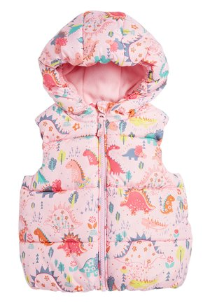 CREAM GILET (3MTHS-7YRS) - Väst - pink