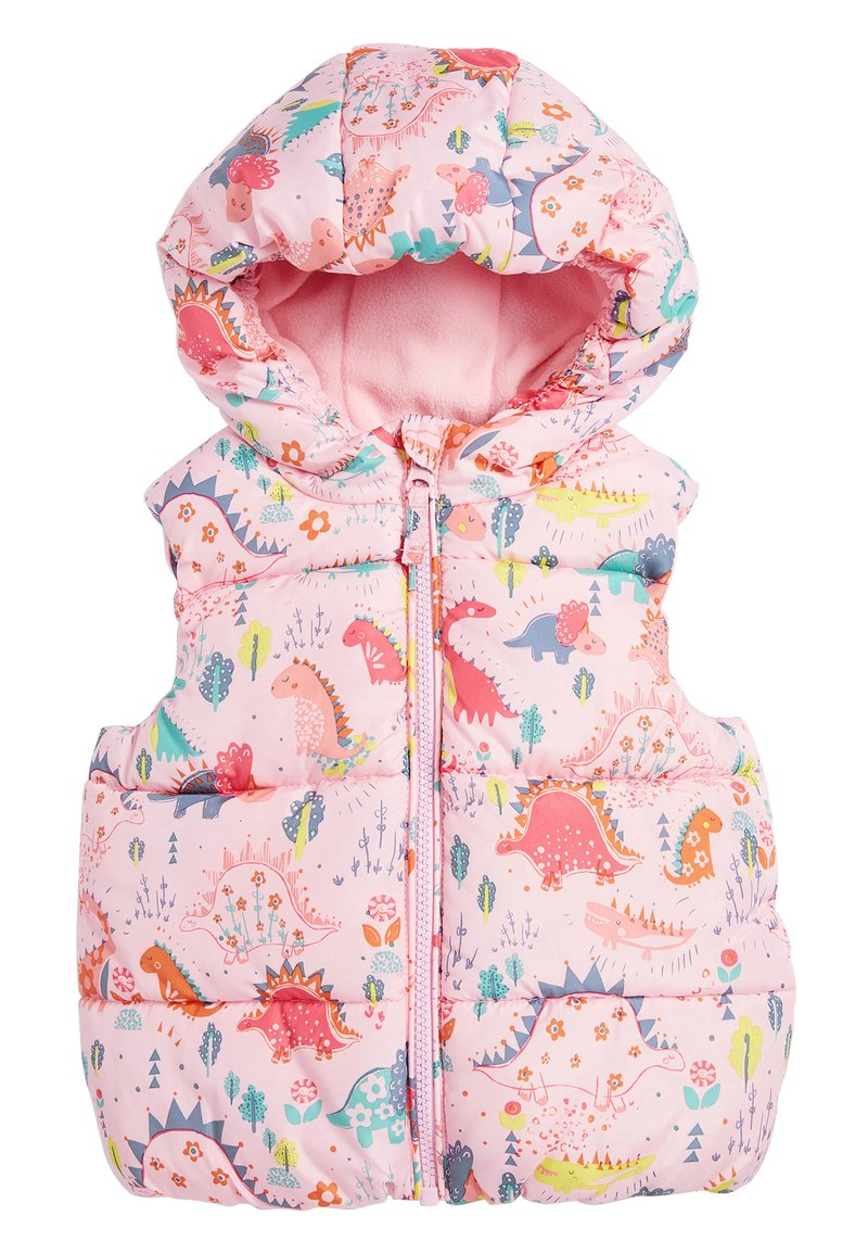Next - CREAM GILET (3MTHS-7YRS) - Smanicato - pink