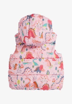 CREAM GILET (3MTHS-7YRS) - Bodywarmer - pink
