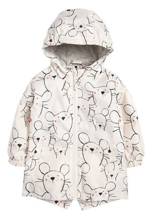 ECRU MOUSE PRINT CAGOULE (3MTHS-6YRS) - Parka - off-white