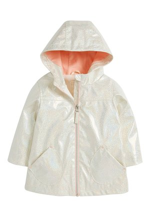 GLITTER  - Waterproof jacket - white