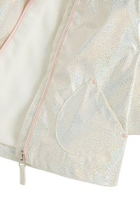 Next - GLITTER  - Waterproof jacket - white - 2