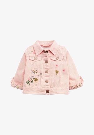 PINK DENIM EMBROIDERED JACKET (3MTHS-7YRS) - Denim jacket - pink