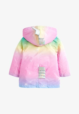 RAINBOW UNICORN JACKET (3MTHS-7YRS) - Vinterfrakker - pink
