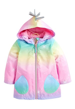 RAINBOW UNICORN JACKET (3MTHS-7YRS) - Winter coat - pink