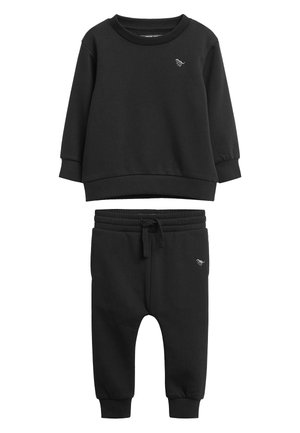 MID GREY CREW AND JOGGERS SET (3MTHS-7YRS) - Sweater - black
