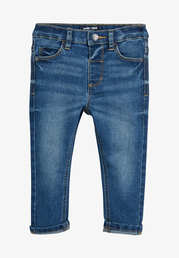 Next - Straight leg jeans - mottled blue