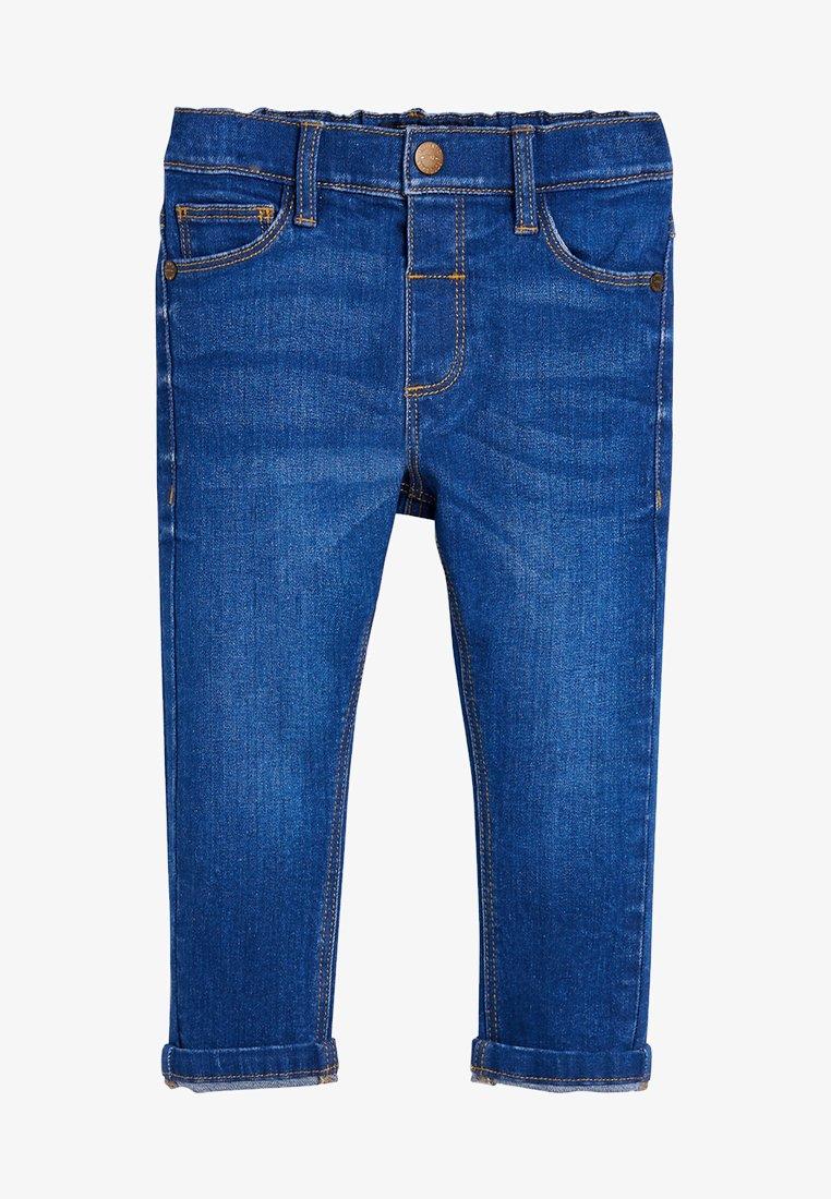 Next - Jean droit - mottled dark blue