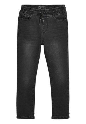 VINTAGE JERSEY LOOK DENIM PULL-ON JEANS (3-16YRS) - Straight leg -farkut - grey
