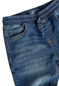 Next - VINTAGE JERSEY LOOK DENIM PULL-ON JEANS (3-16YRS) - Straight leg jeans - blue - 2