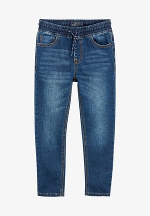 VINTAGE JERSEY LOOK DENIM PULL-ON JEANS (3-16YRS) - Straight leg jeans - blue