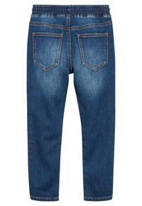 Next - VINTAGE JERSEY LOOK DENIM PULL-ON JEANS (3-16YRS) - Straight leg jeans - blue - 1