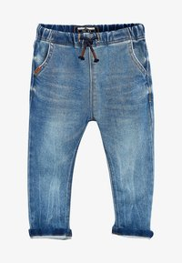 Next - Straight leg jeans - mottled blue - 0