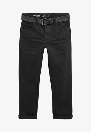 REGULAR FIT  - Straight leg jeans - black