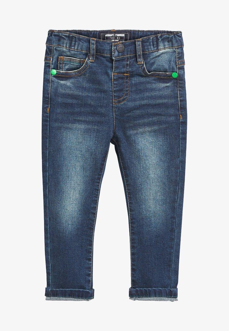 Next - SUPERSOFT  - Slim fit jeans - mottled blue