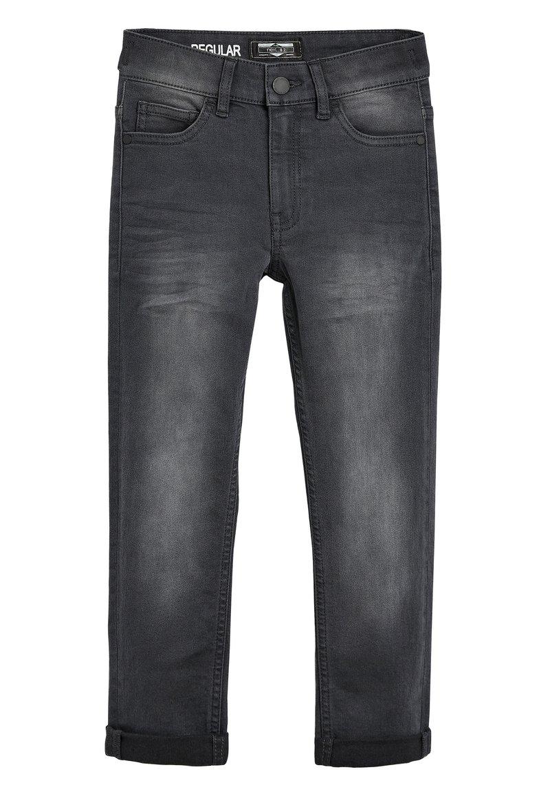 Next - DENIM BLEACH REGULAR FIT FIVE POCKET JEANS (3-16YRS) - Slim fit jeans - grey