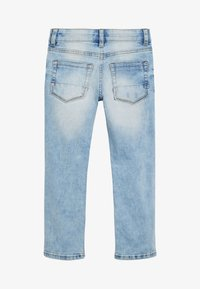 Next - DENIM BLEACH REGULAR FIT FIVE POCKET JEANS (3-16YRS) - Slim fit jeans - blue - 1
