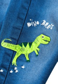 Next - BRIGHT BLUE CHARACTER JEANS (3MTHS-7YRS) - Straight leg jeans - blue - 2