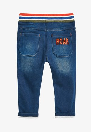 MID BLUE TIGER CHARACTER JEANS (3MTHS-7YRS) - Trousers - blue
