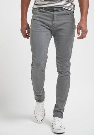 Slim fit jeans - mottled grey