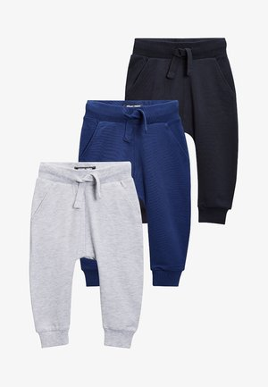 3 PACK - Tracksuit bottoms - blue