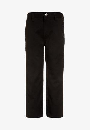 JEAN TROUSERS - Pantalon classique - black