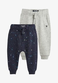 Next - 2 PACK - Pantalones deportivos - grey - 0
