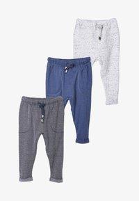 Next - 3PACK - Pantaloni sportivi - blue - 0