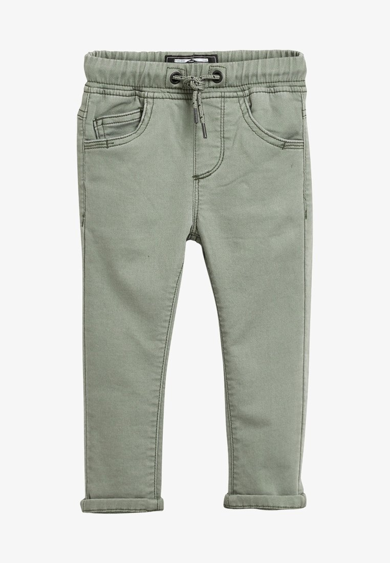 Next - PULL-ON - Stoffhose - green