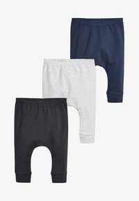 Next - 3 PACK - Pantalon de survêtement - grey - 0