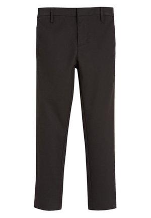 BLACK FORMAL STRETCH SKINNY TROUSERS (3-16YRS) - Kalhoty - mottled black