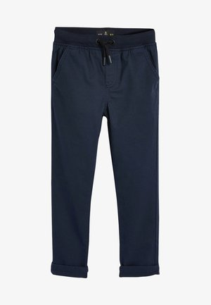 GREY RIB WAIST PULL-ON TROUSERS (3-16YRS) - Tracksuit bottoms - blue
