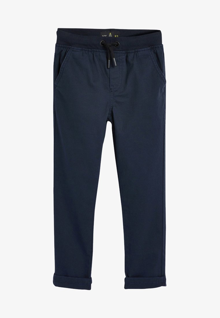 Next - GREY RIB WAIST PULL-ON TROUSERS (3-16YRS) - Pantalones deportivos - blue