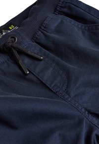 Next - GREY RIB WAIST PULL-ON TROUSERS (3-16YRS) - Pantalones deportivos - blue - 2