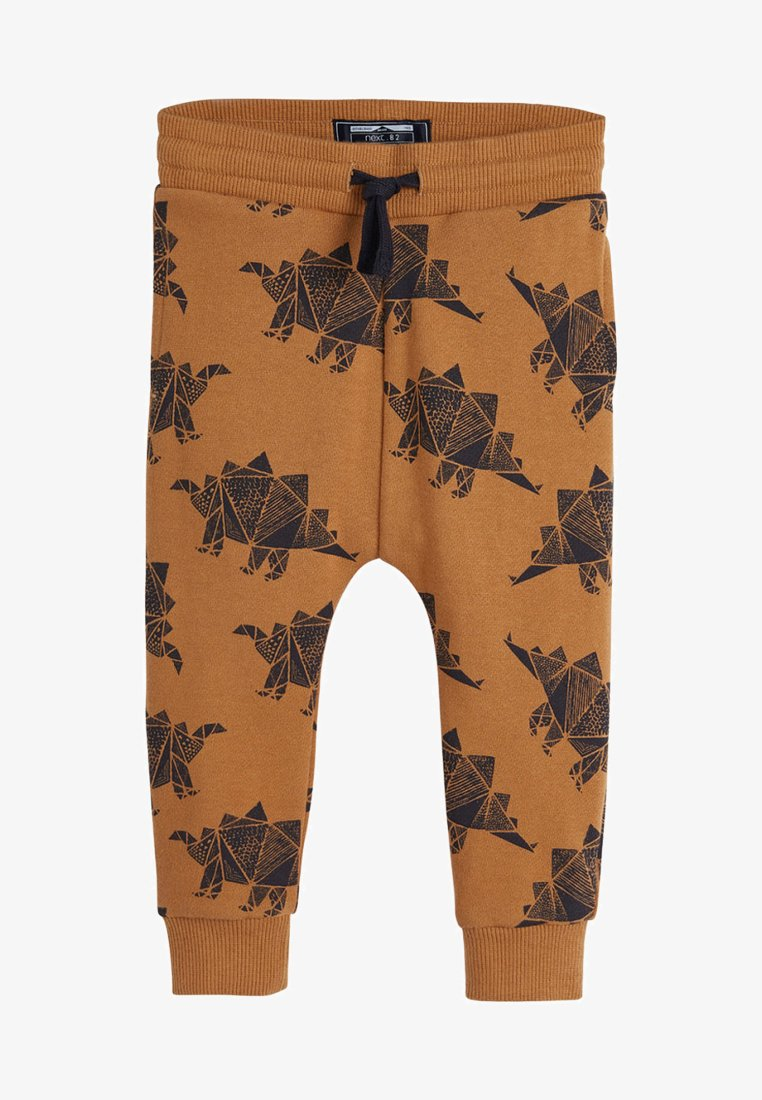Next - TAN STEGOSAURUS DINO - Tracksuit bottoms - beige
