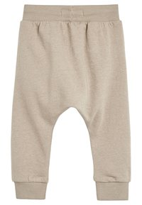 Next - STONE DROP CROTCH - Trainingsbroek - beige - 1