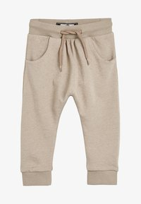 Next - STONE DROP CROTCH - Trainingsbroek - beige - 0