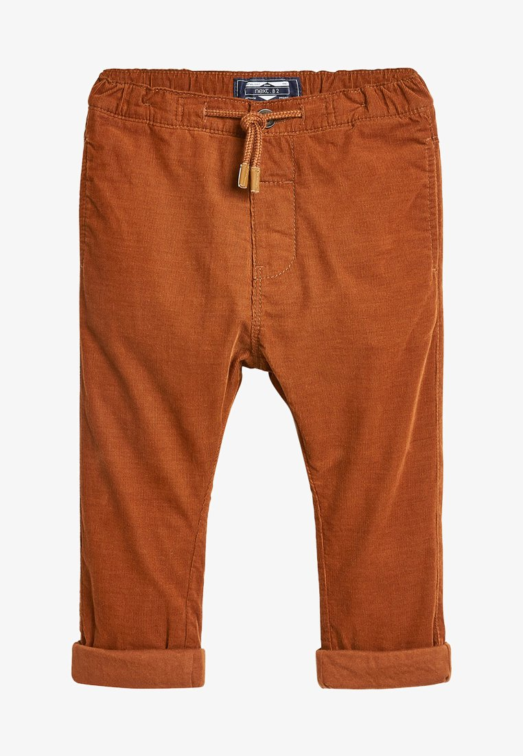 Next - GINGER PULL-ON  - Trousers - brown